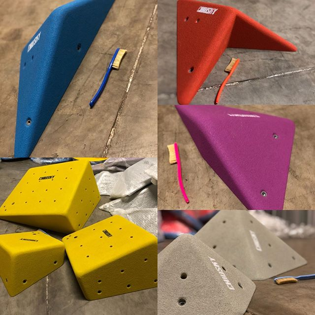 Chiusky stock for the Australian market has arrived with us at Friction Addiction.  We're proud to be able to introduce this new and innovative brand to the Aussie market!  Chiusky volumes are handmade in Italy with immaculate attention to detail and ergonomics. Routesetters pay attention, 50+ shapes in several sizes, 10+ colours to chose from, pressure washer safe, screw inserts for longevity of attachment points and the list goes on!  Great volumes, nothing more to say.  Most of whats in stock now is available in grey as pictured, 75 small to medium volumes ready to be shipped with a few large ones available too. Shipping out of Melbourne every Friday, get in touch! . . . . . #climbing #bouldering #climbingholds #climbingvolumes #chiusky #plywood #gym #klettergriffe #rock #climbinglife #shaping #escalada #escalar #klettern #power #boulderinglife #doyouboulder #TimetoClimb #getstrong #climbinglove #neverstopclimbing #fit #fitness #training #climbingisfun #climbing_pictures_of_instagram #bouldering_pictures_of_instagram #climbing_is_my_passion #frictionaddiction #holdswarehouse