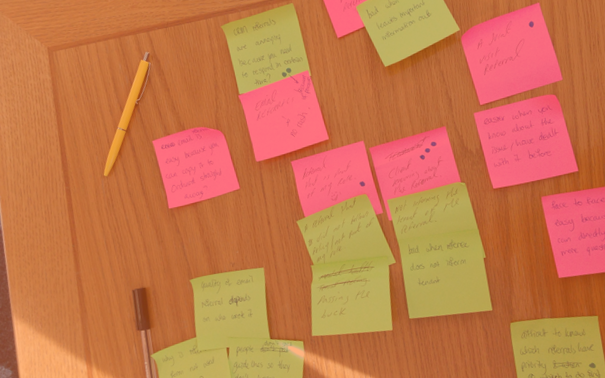 Pain points of the role were identified and validated during two workshops