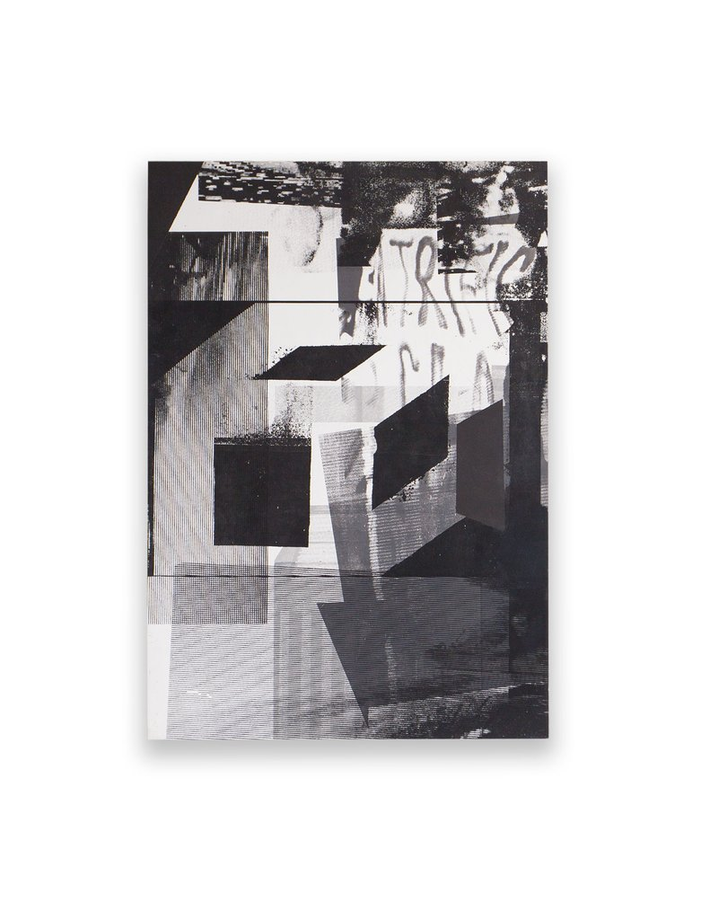 'Untitled (ghosts series)', Neil Dunne, Silkscreen and acrylic polymer on ply.