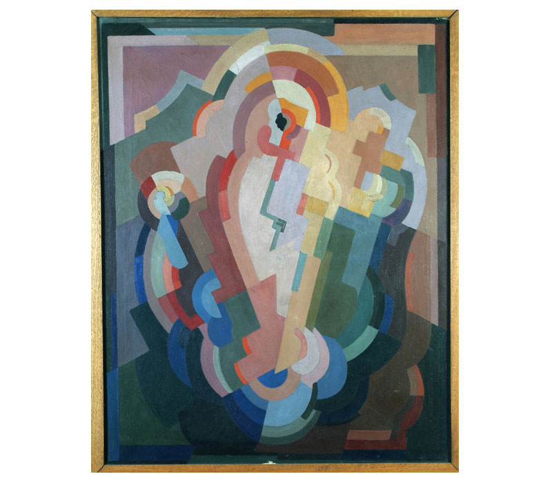 'Abstract Composition', Oil On Canvas, 104 x 82 cm, 1935, Crawford Art Gallery Cork · Image credit:   Artsy