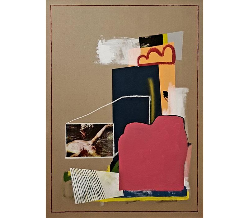 'Gemino', Silkscreen and acrylic polymer on canvas, 100 x 140 cm. Photo credit:  SO Fine Art Editions