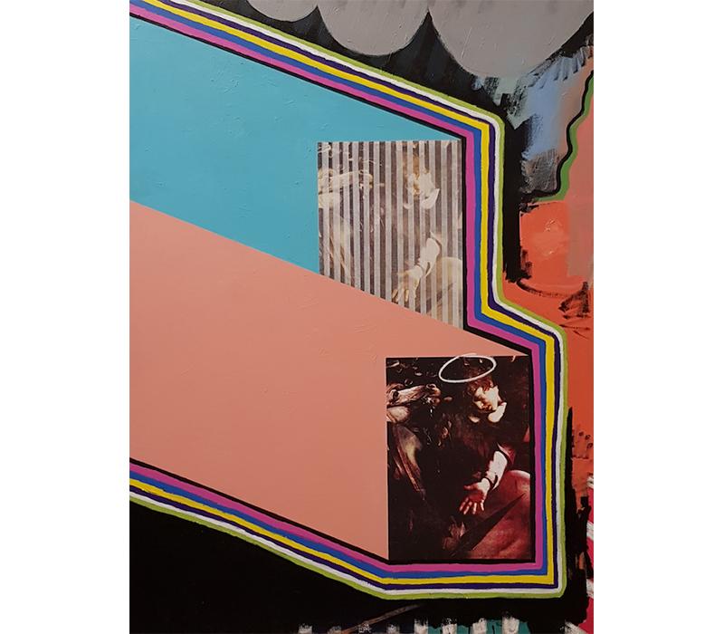 'Ingemino', Silkscreen and acrylic polymer on canvas, 100 x 140 cm. Photo credit:  SO Fine Art Editions