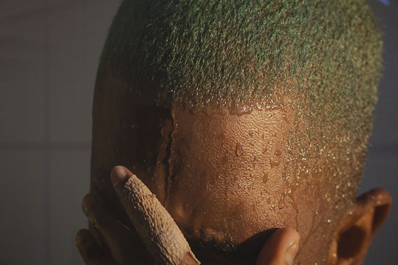 Detail of 'Frank Ocean', Rebuilding the Future, IMMA.