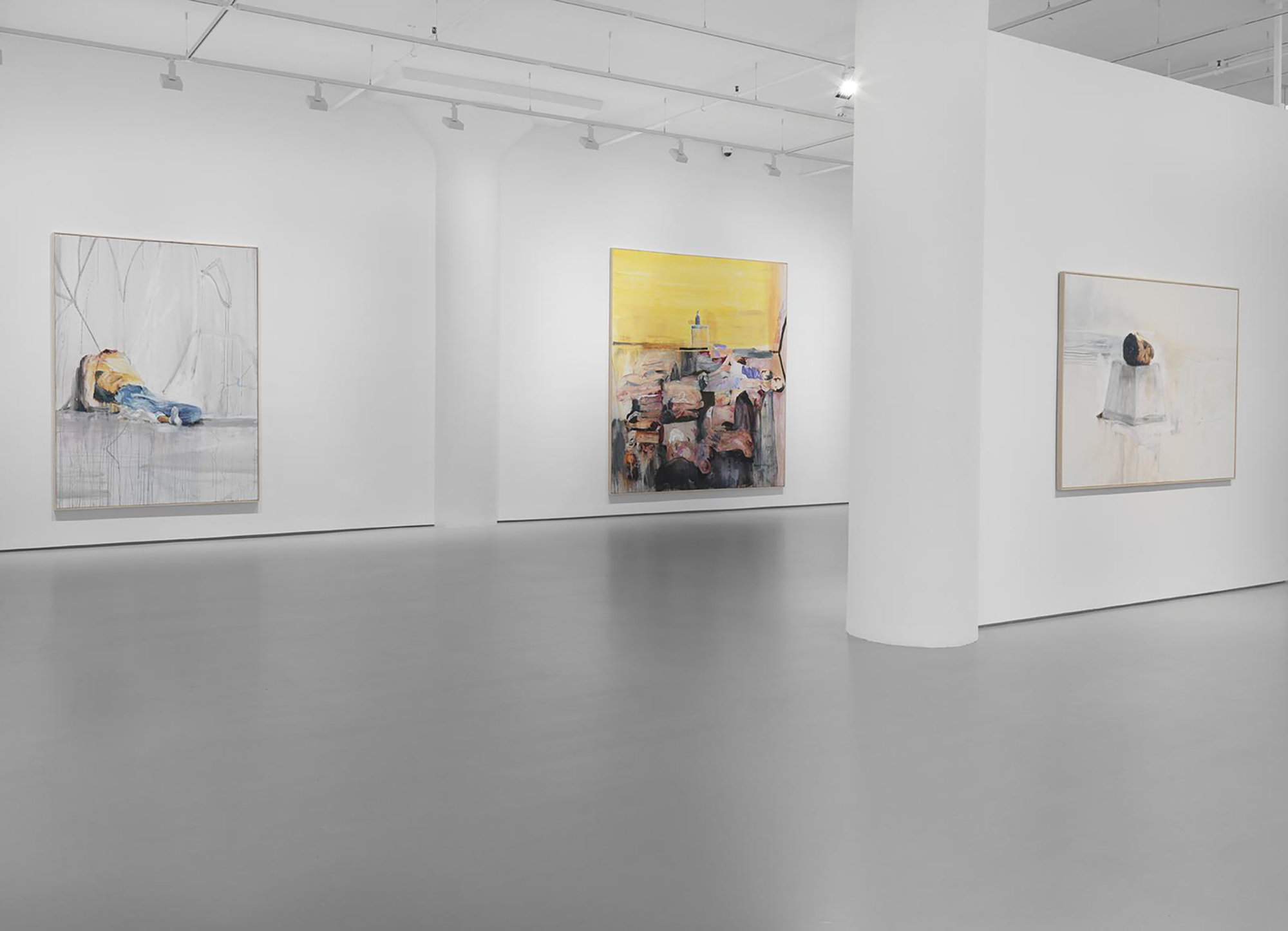 View of  The Absence of Justice Demands This Act , 2015, Fergus McCaffery Gallery, New York City. Photo credit:  Fergus McCaffery Gallery