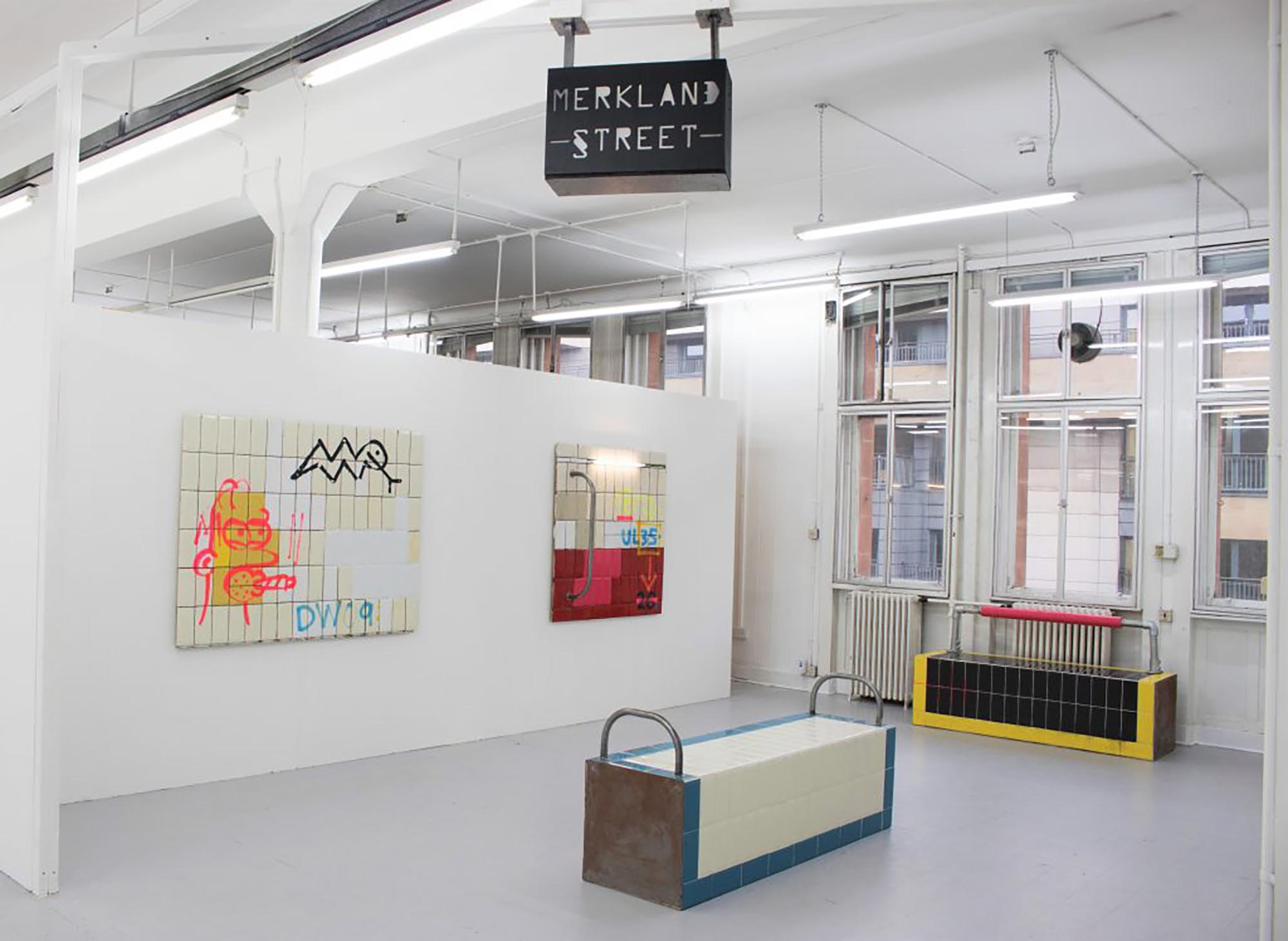 Selection of work from 'Merkland Street', 2018. Photo credit:  Stephen Burke