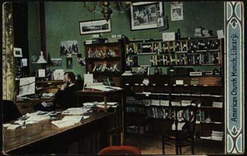 This postcard dated 1913 is probably of the offices on Theatinerstraße