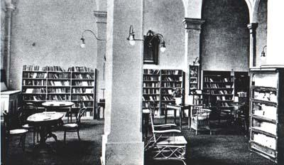 Library on Salvatorplatz -