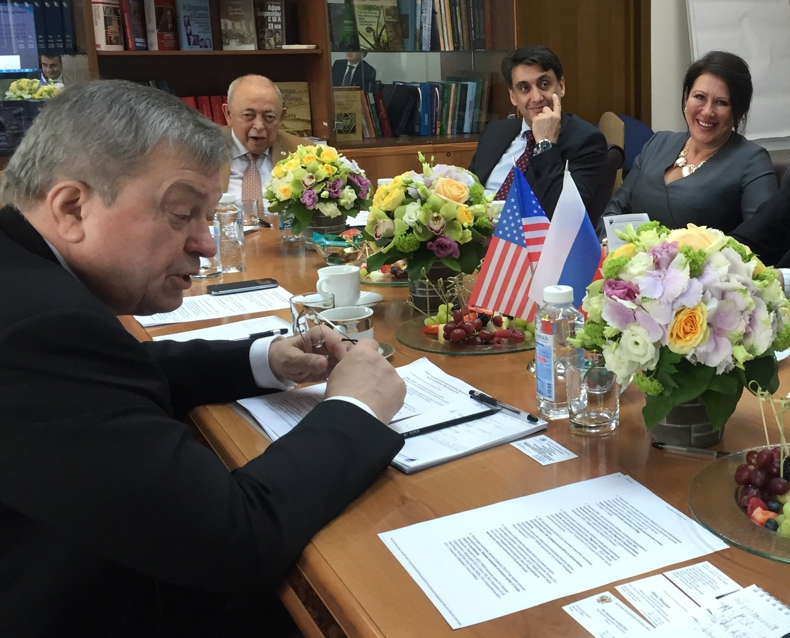 Joint Working Group Meeting to discuss U.S.-Russian scientific collaborations