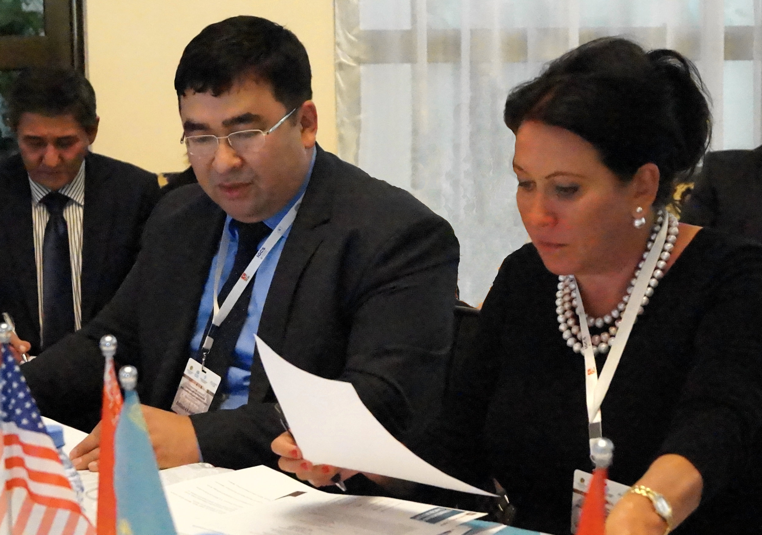 2018:  Dr. Sophia Michaelson , Executive Director, AECA engaged in cancer control progress monitoring in Central Asia, Almaty, Kazakhstan