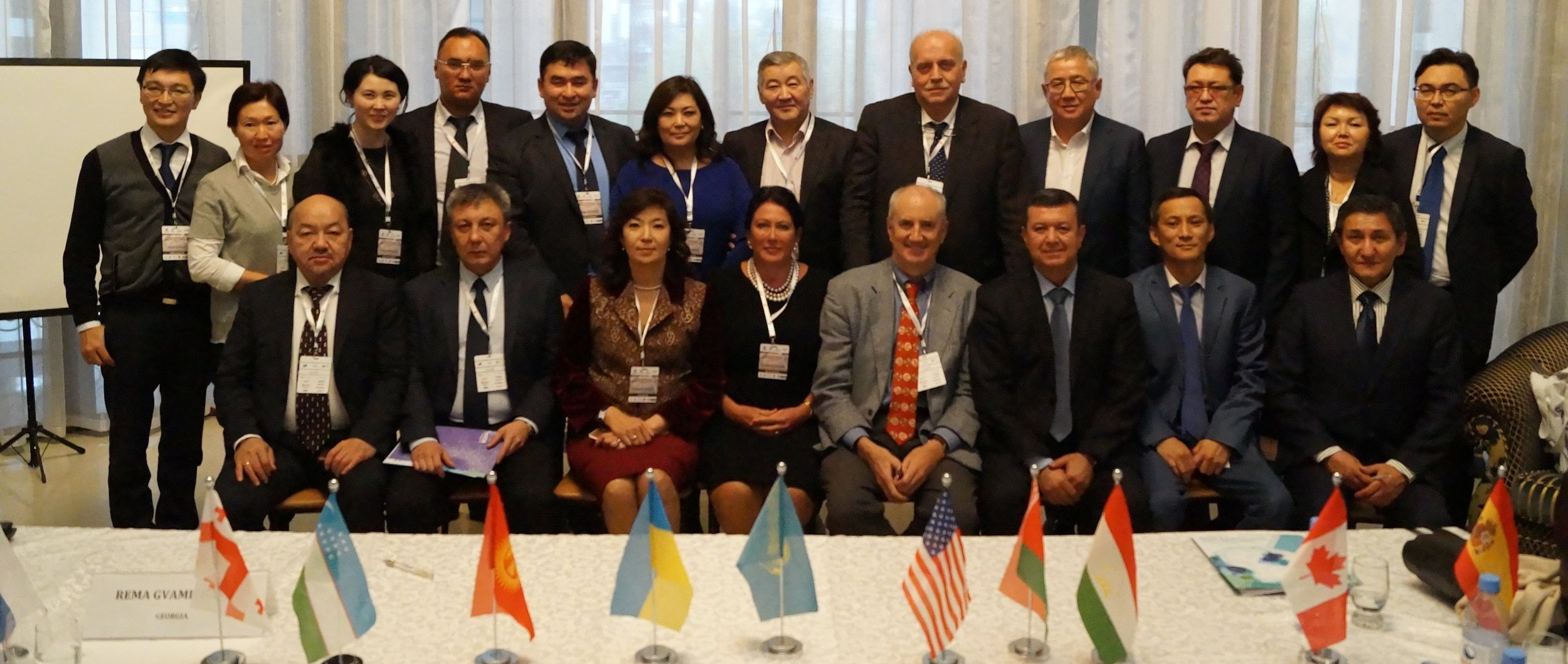 2018: AECA engages Eurasian cancer leaders in cervical cancer control (Kazakhstan)
