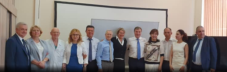 Eurasian cancer center leadership discussed regional oncology efforts in Moscow, Russia, 2019