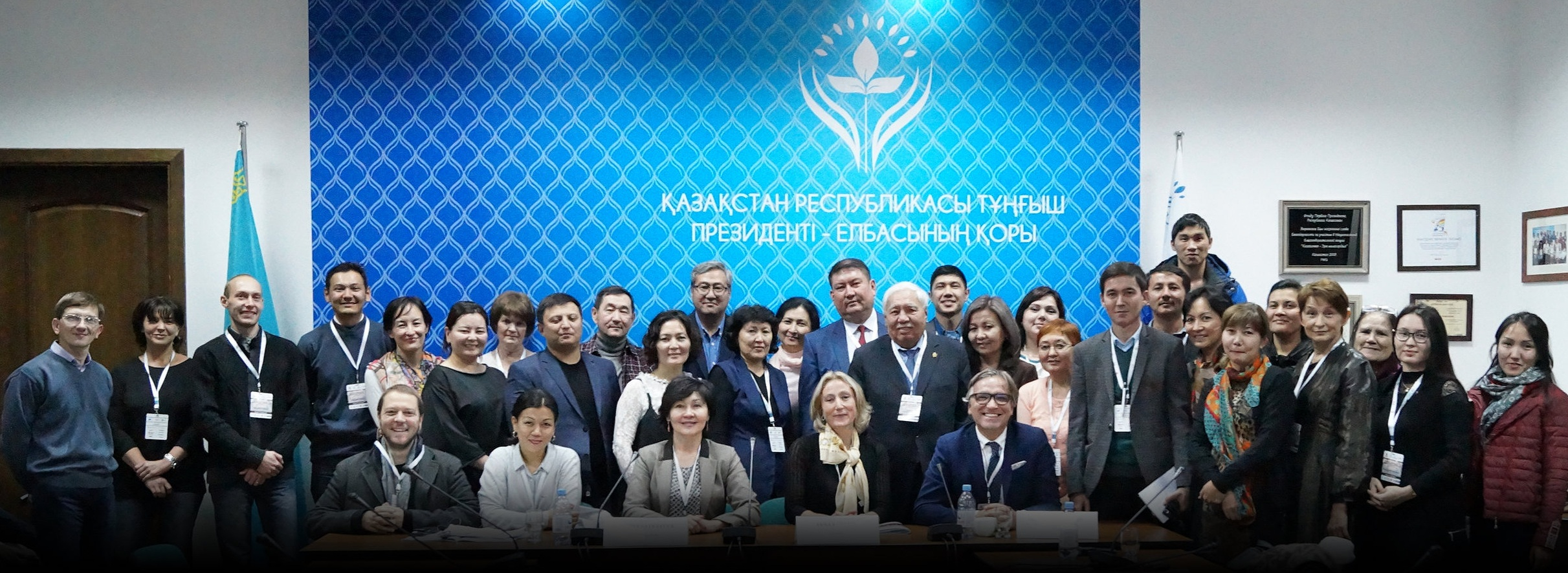 Launch of the gynecological pathology training program in Almaty, Kazakhstan, 2018