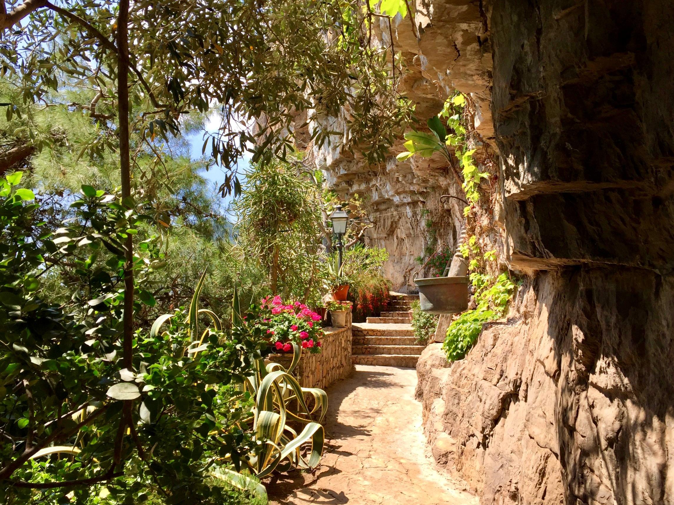 Private Villa gardens - Amalfi Coast