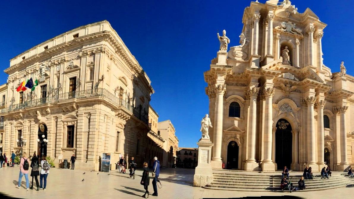 Piazza Duomo, Siracusa Duomo & Temple of Athena - Ortigia