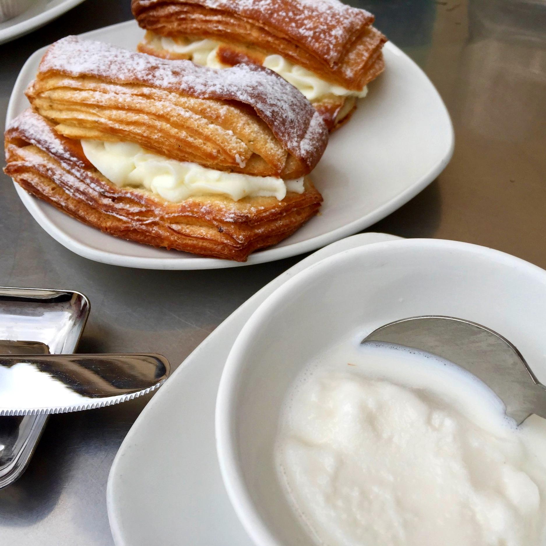 Breakfast at Caffè Sicilia - Noto