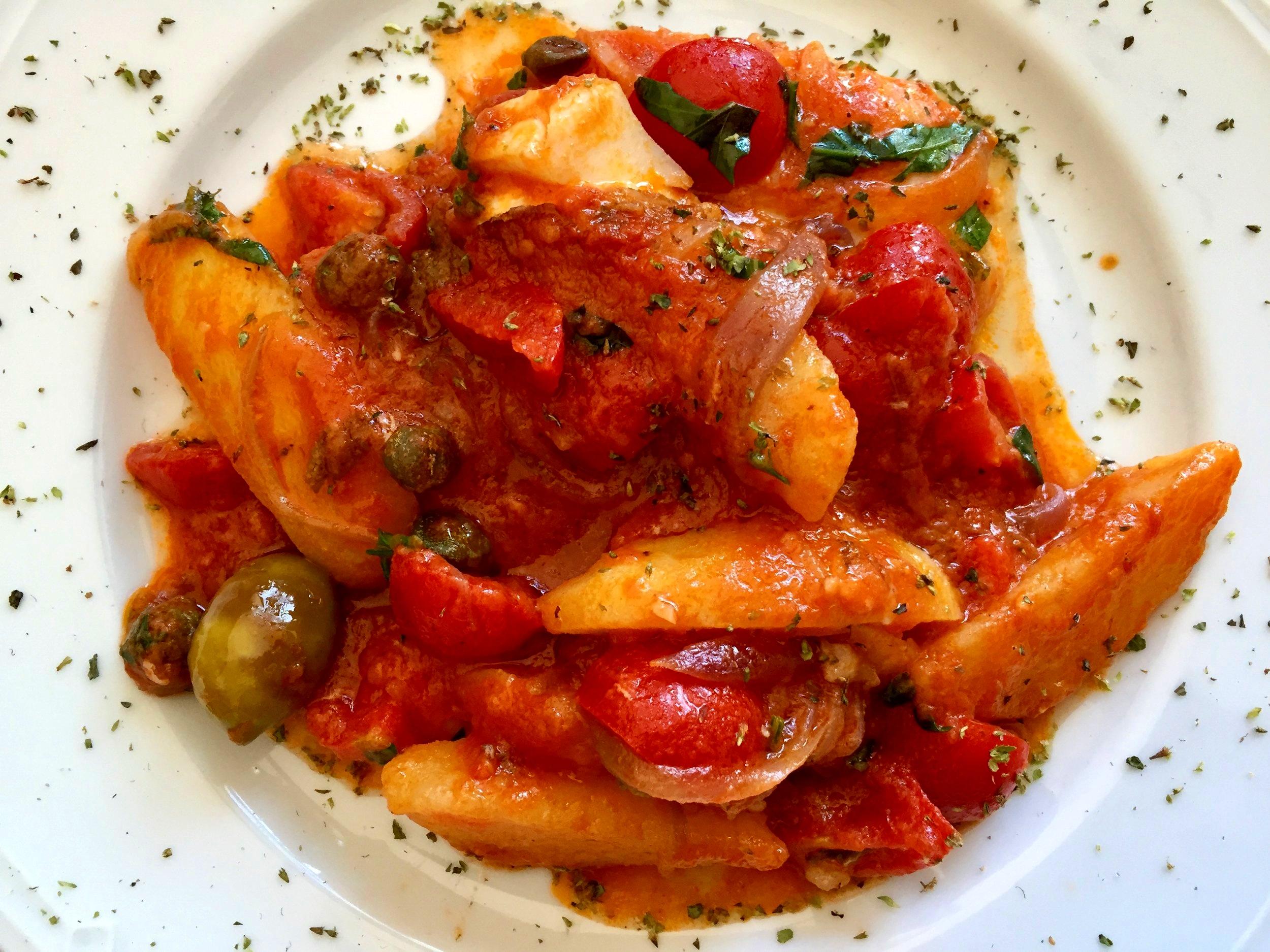 Codfish baccalà Messina style - Solicchiata