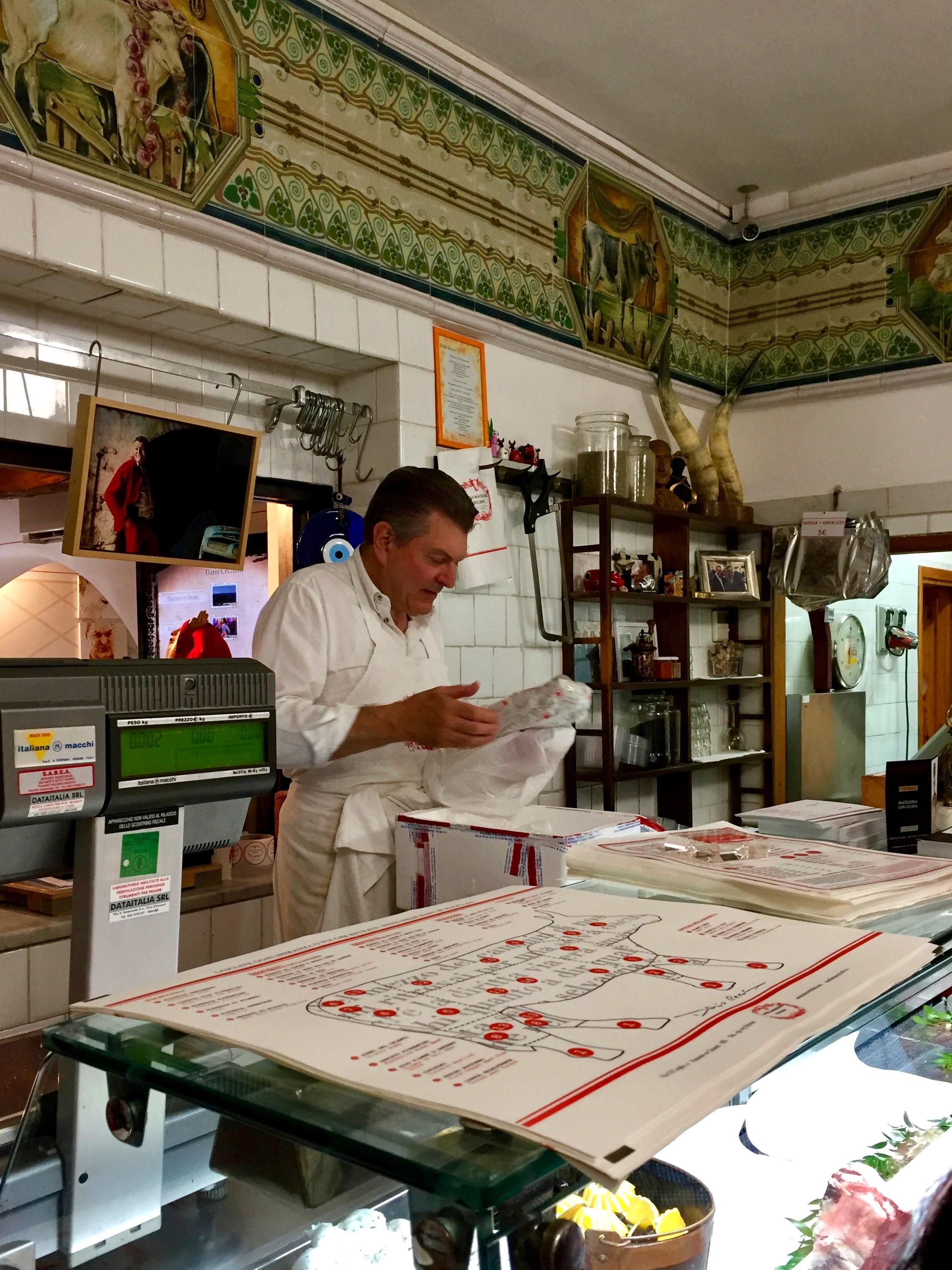 Butcher atelier - Panzano in Chianti