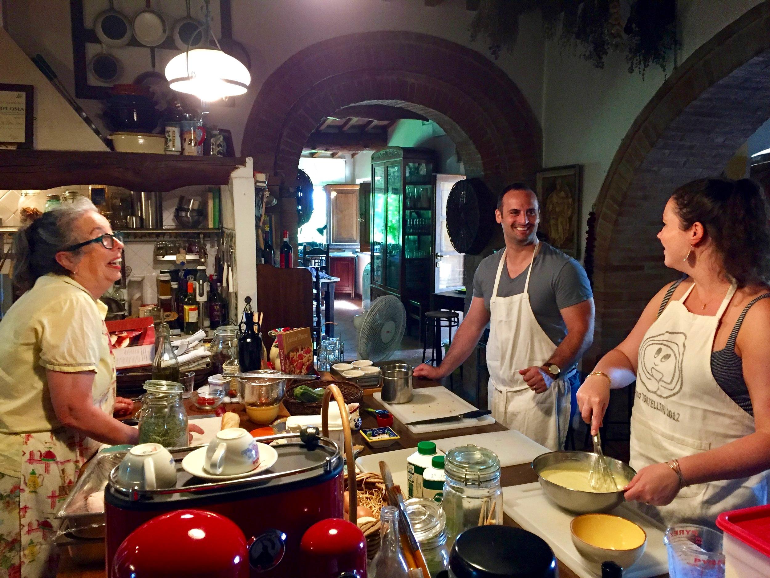 Fun cooking class - Montepulciano