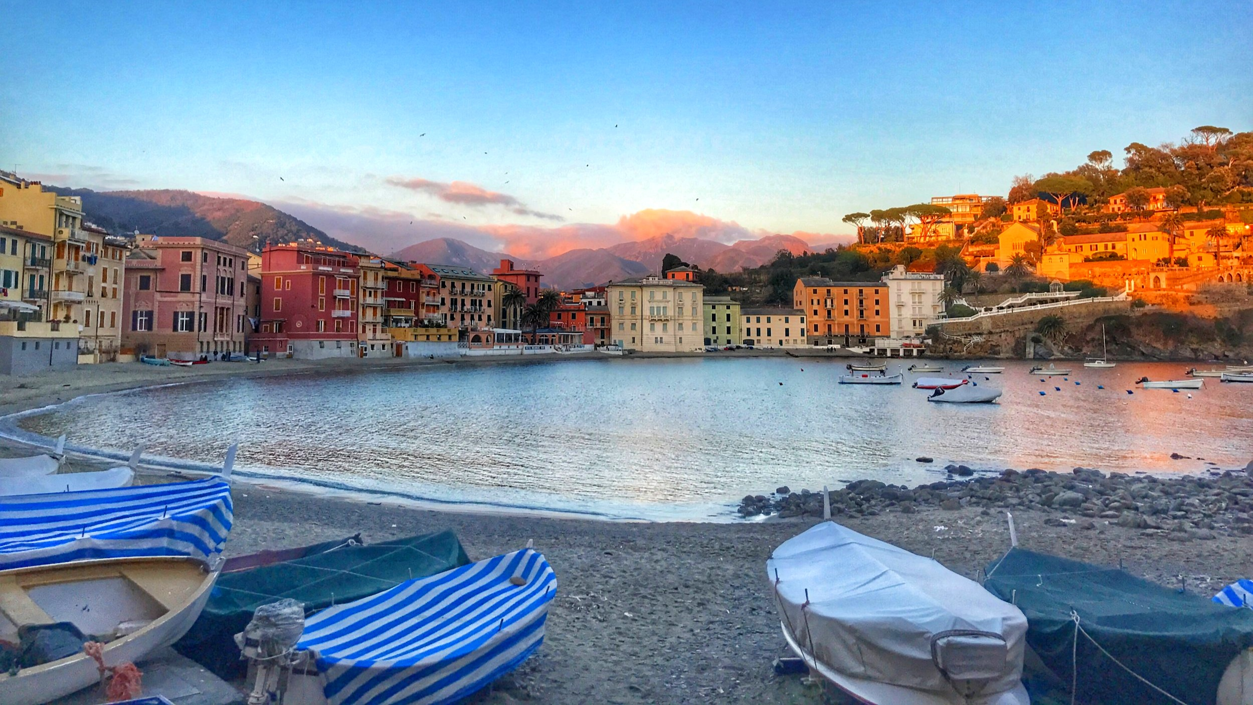 Liguria has the unique charm of sophisticated Italy at its best, together with enchanting sea and breathtaking scenery - Bay of Silence, Sestri Levante