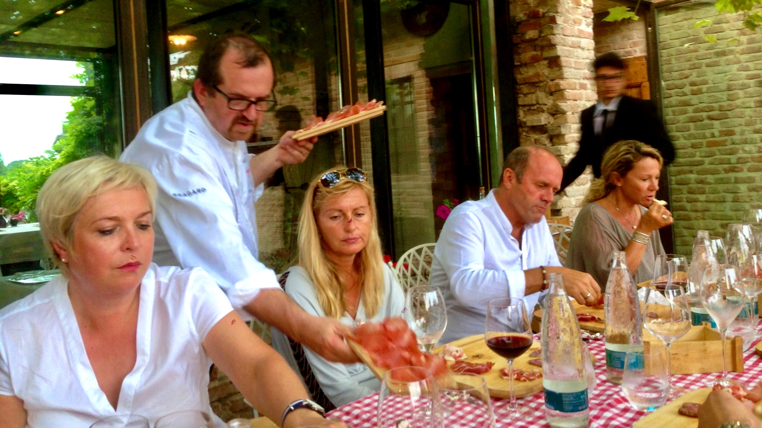 The colourful pairings of culatello and strolghino with local wines - Zibello
