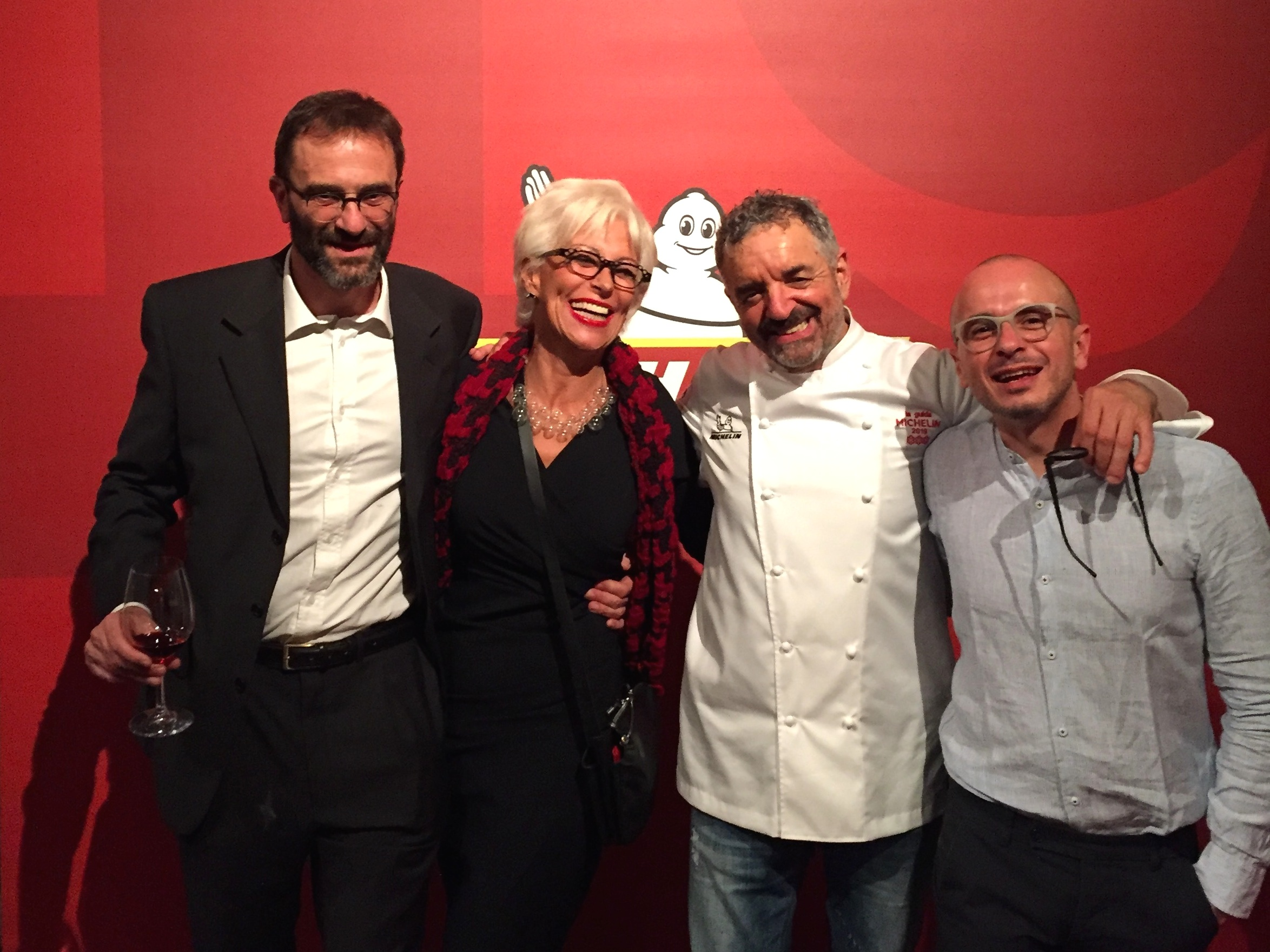 Michelin guide Uliassi 3 stars revelation