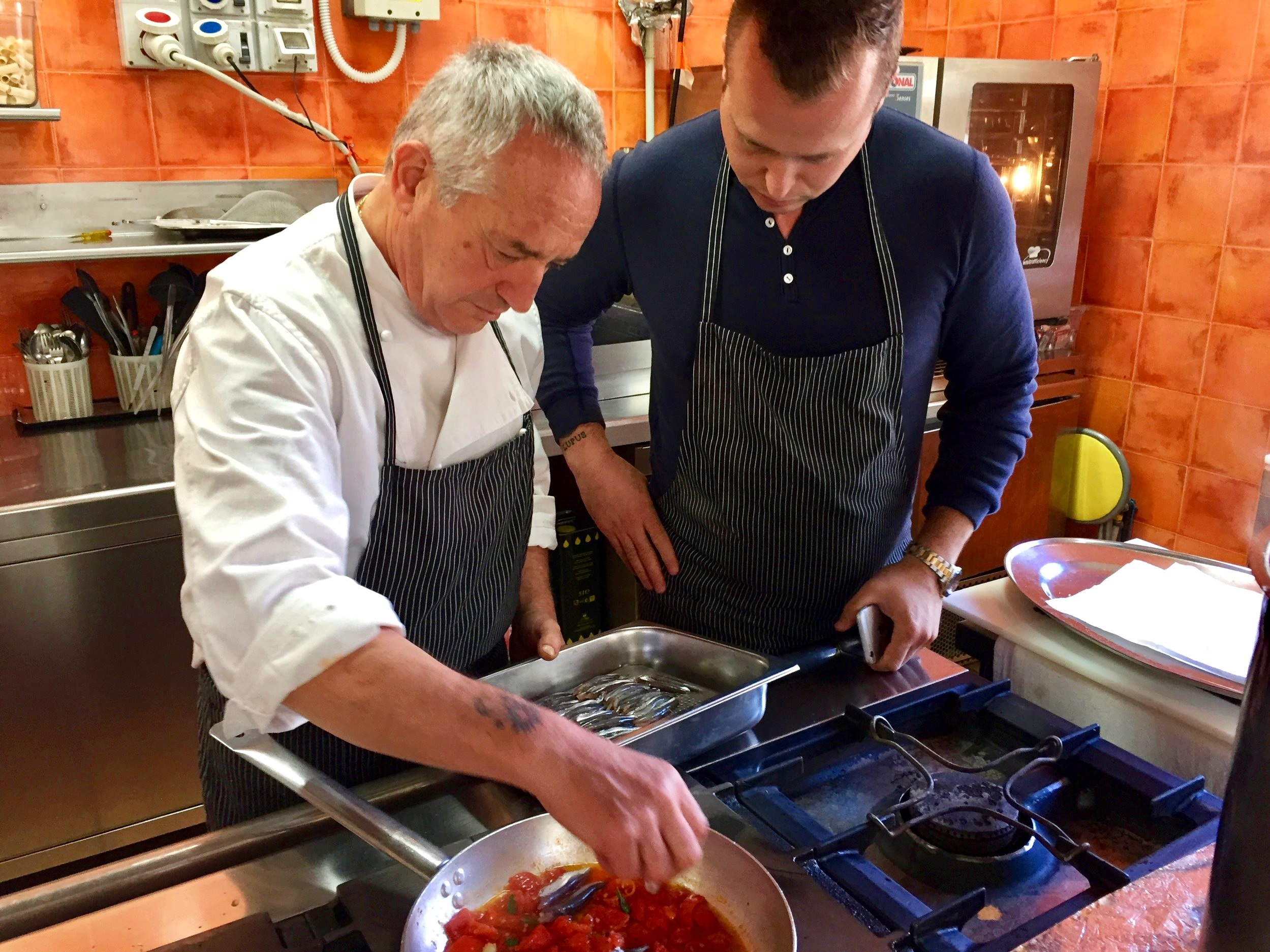 Masters of the kitchen - David Nayfeld and Gaetano Alia in Calabria