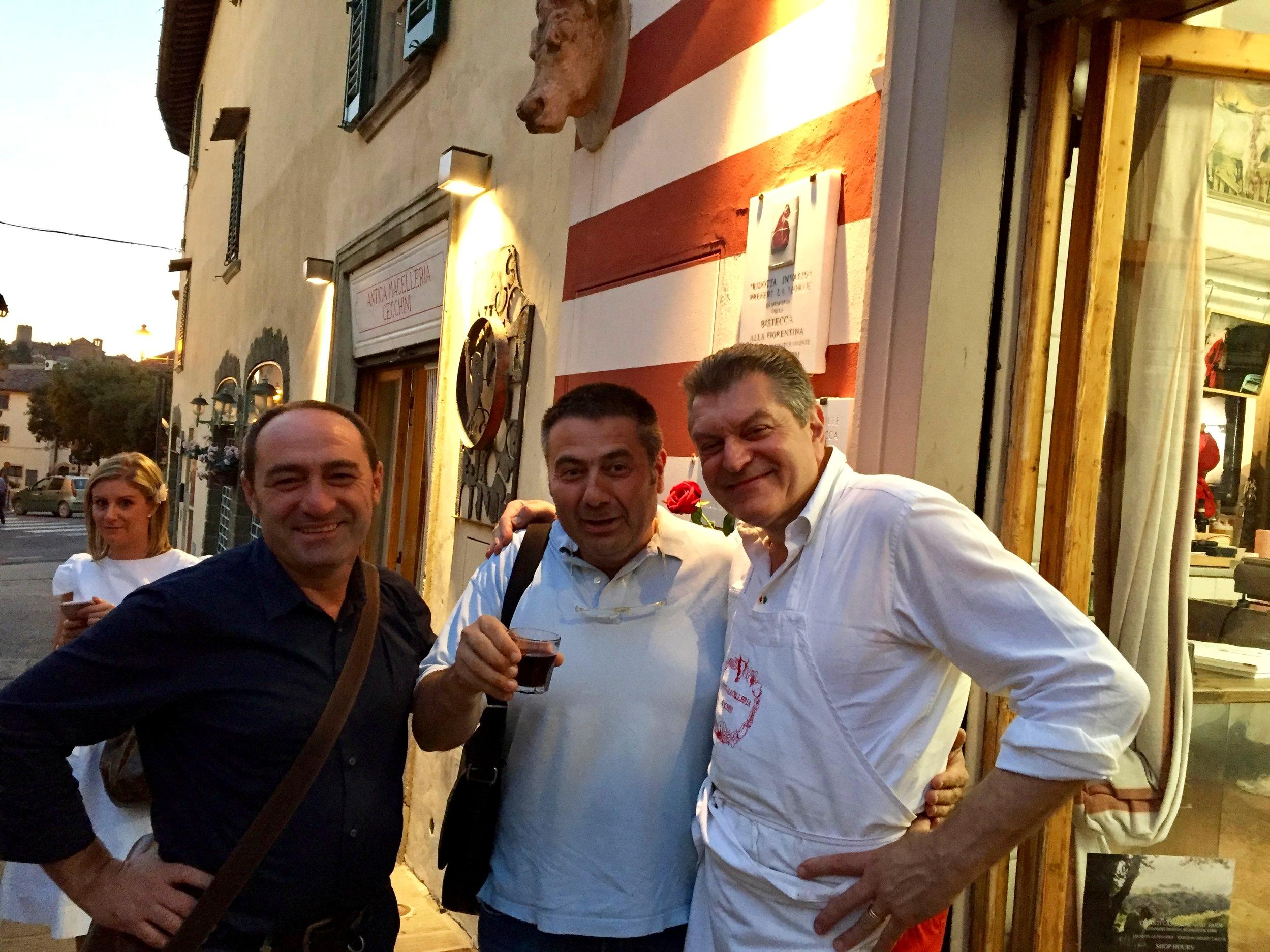 Meet the butchers - Cecchini, Fracassi, Sabatino