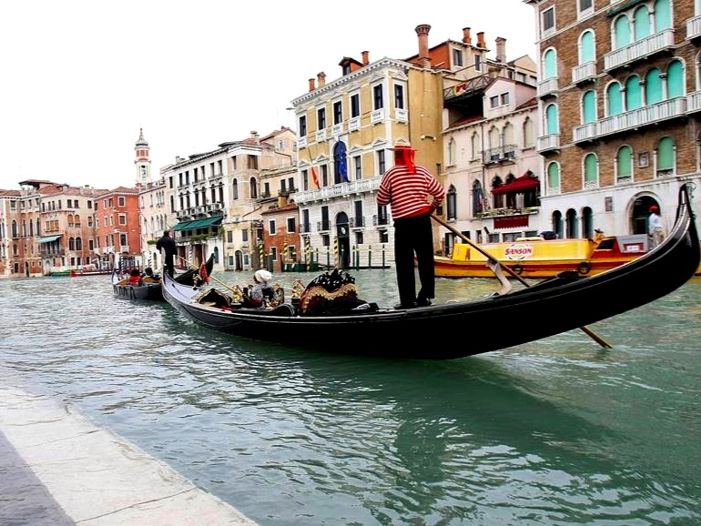 Private Gondola on the Grand Canal