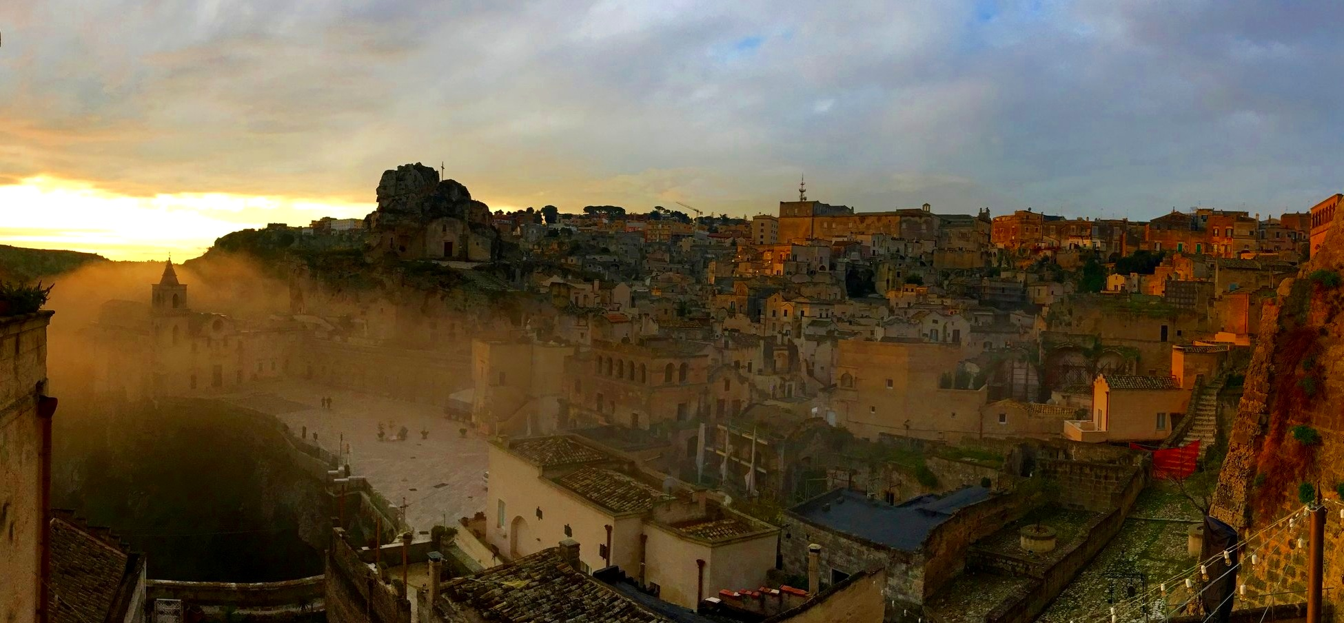 Sweet shelter of the mother's arms, the marvel of all Arts - Unesco World Heritage Site of Matera