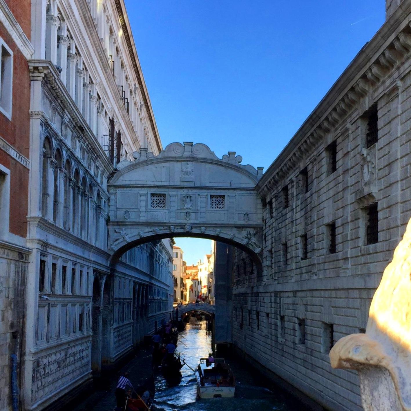 Bridge of Sighs - Riva degli Schiavoni