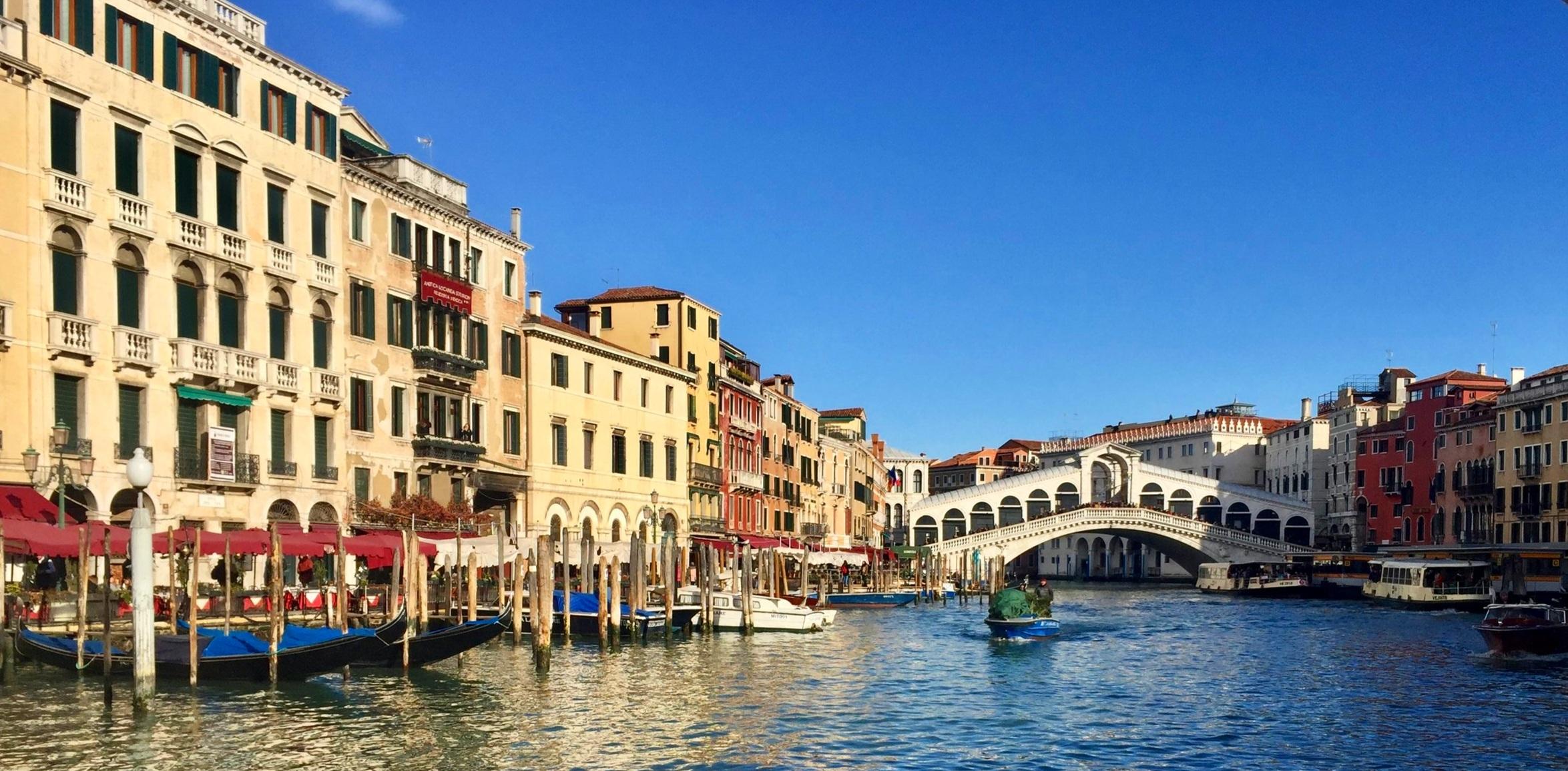 Rialto Bridge from the Grand Canal - San Polo, San Marco
