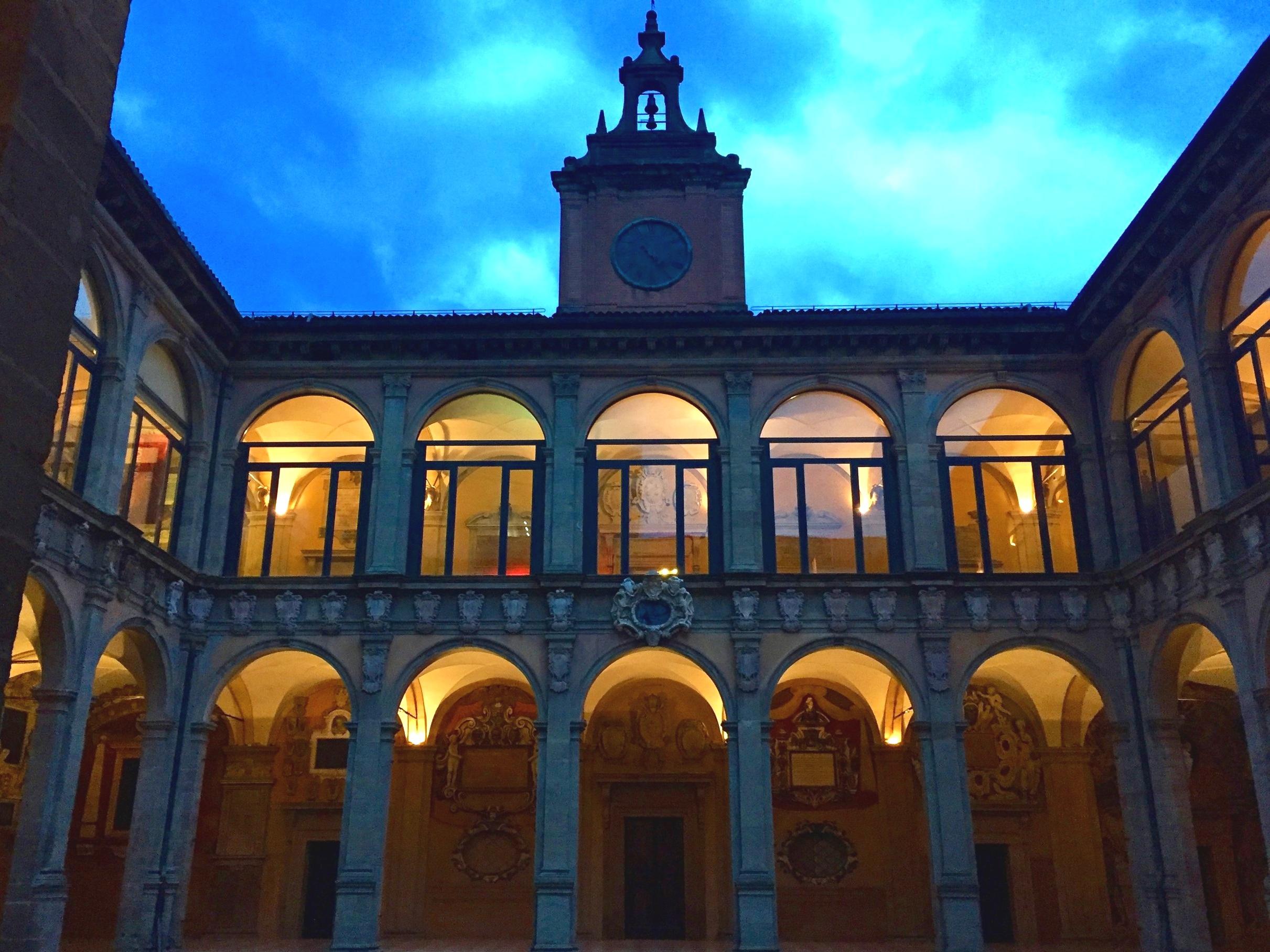 The Archiginnasio palace and public library - Bologna