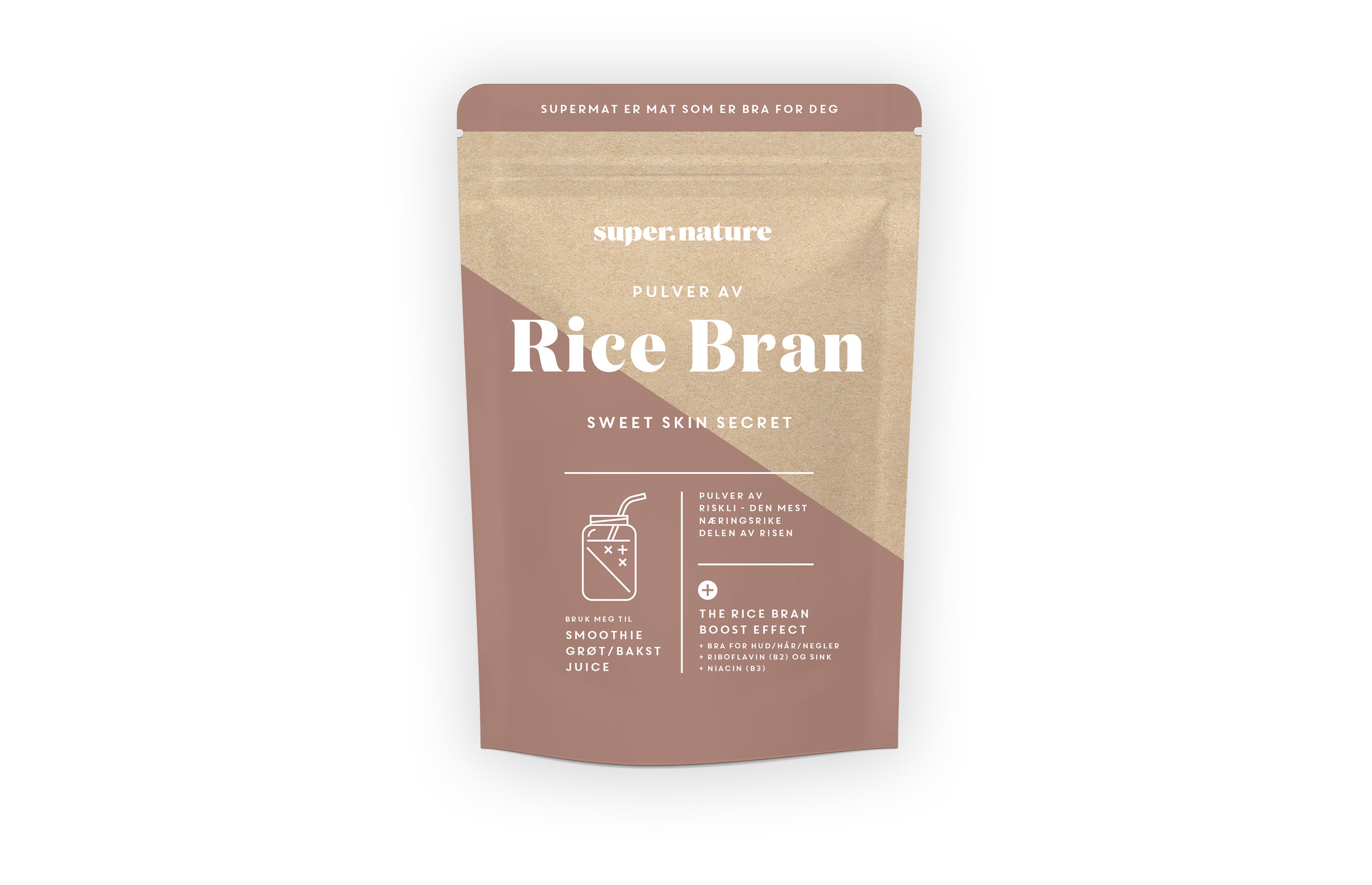 Supernature Rice Bran -