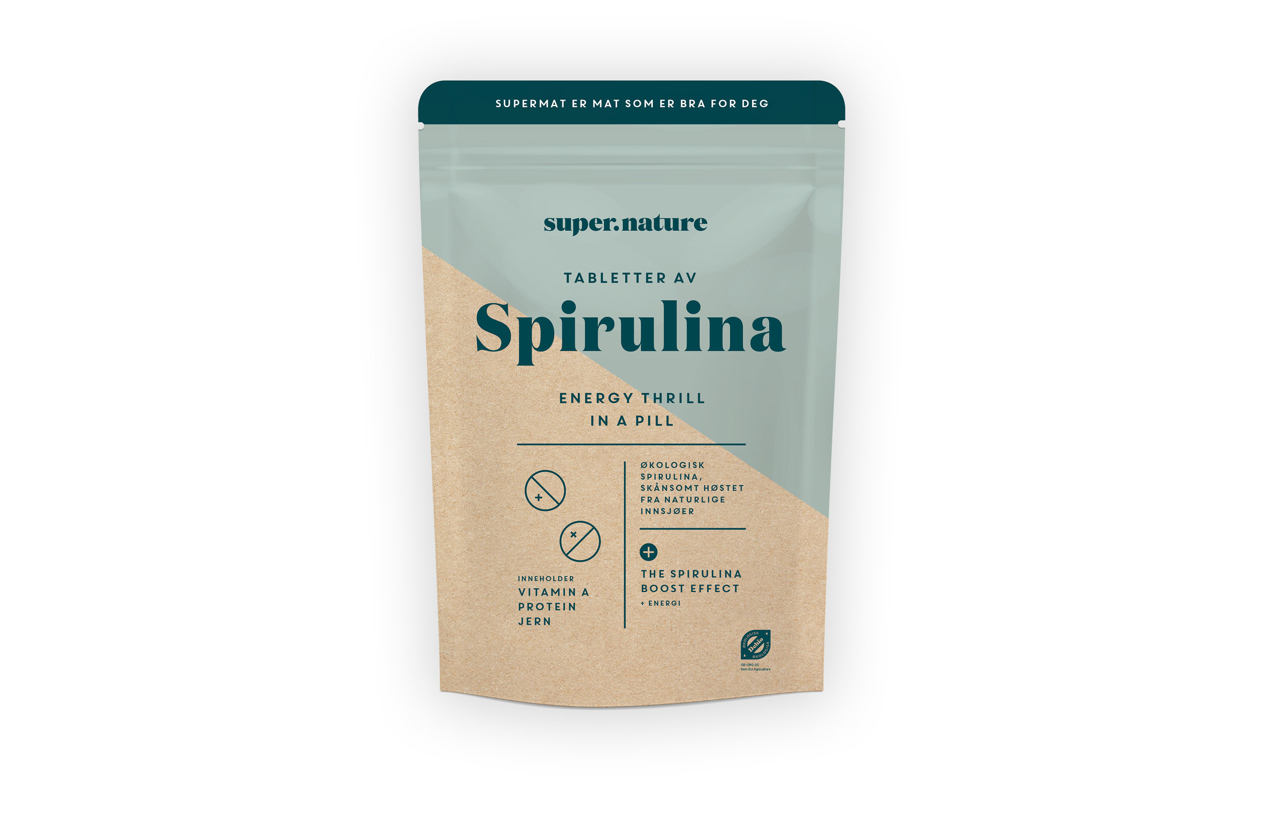 Supernature Spirulina-tabletter -
