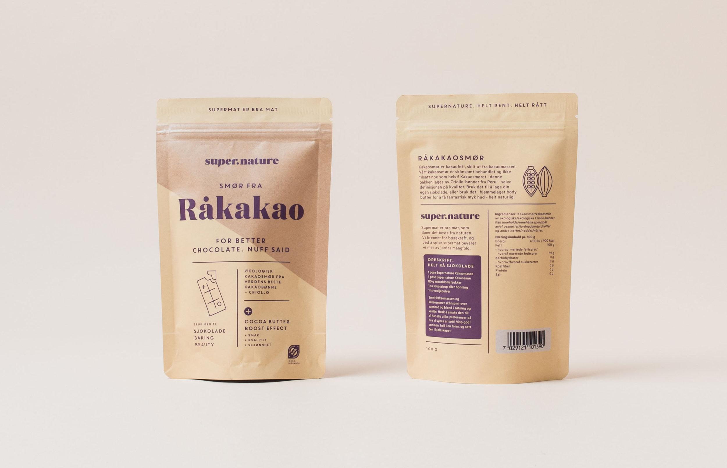 Supernature Kakaosmør -