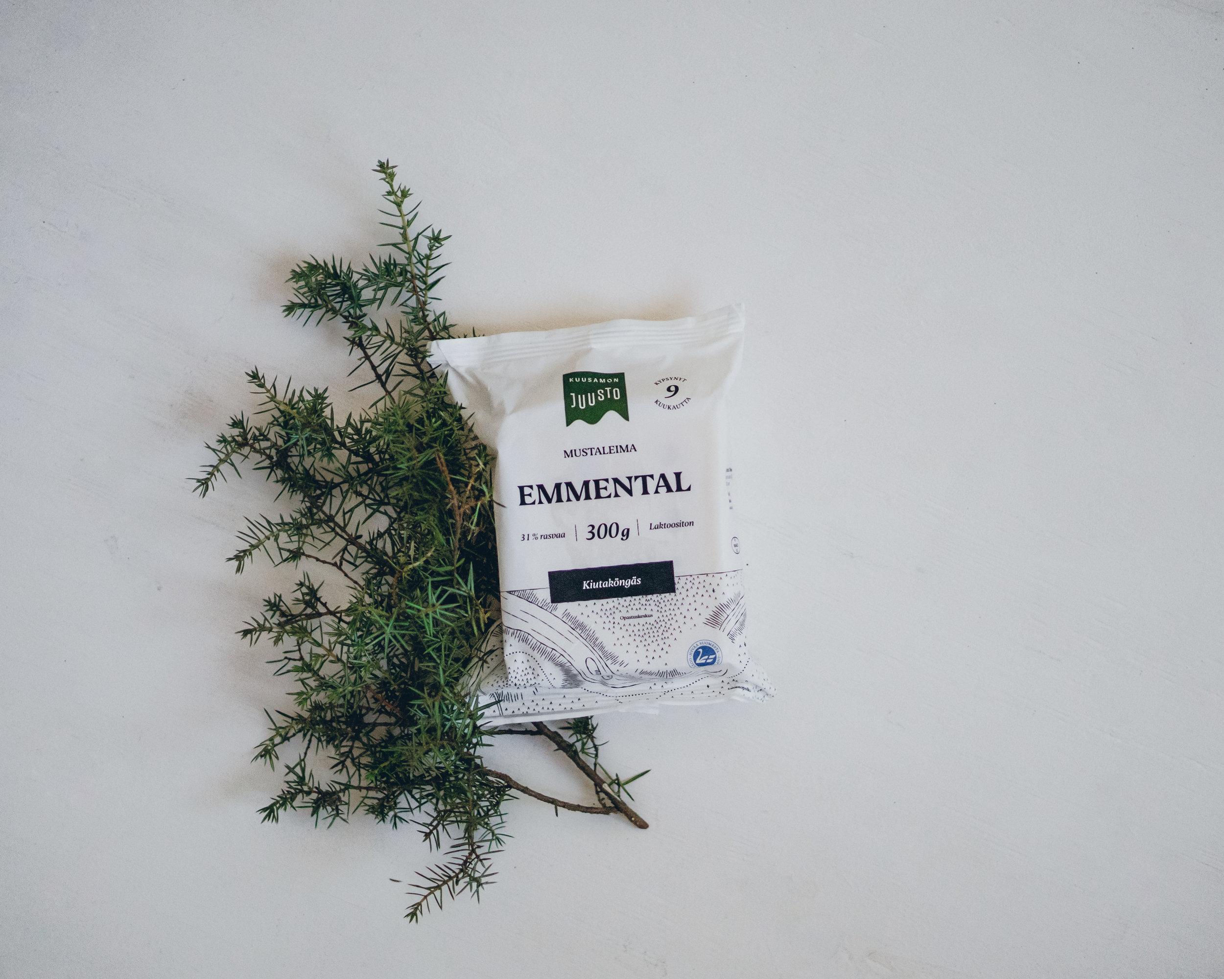 Mustaleima emmental -