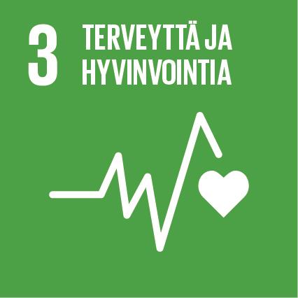 YK:n kestävän kehityksen tavoitteet Kuusamon Juusto Terveyttä ja hyvinvointia