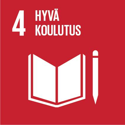 YK:n kestävän kehityksen tavoitteet Kuusamon Juusto Hyvä koulutus
