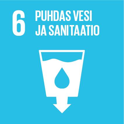YK:n kestävän kehityksen tavoitteet Kuusamon Juusto Puhdas vesi ja sanitaatio