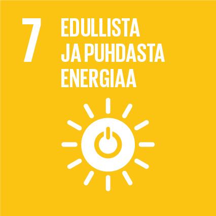 YK:n kestävän kehityksen tavoitteet Kuusamon Juusto edullista ja puhdasta energiaa