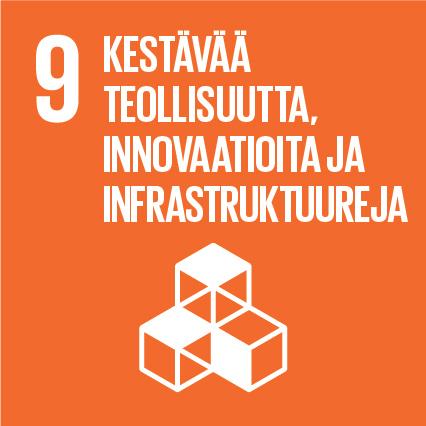 YK:n kestävän kehityksen tavoitteet Kuusamon Juusto kestävä teollisuus, innovaatiota ja infrastruktuureja