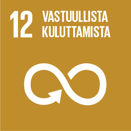 YK:n kestävän kehityksen tavoitteet Kuusamon Juusto Vastuullista kuluttamista