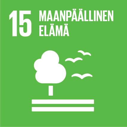 YK:n kestävän kehityksen tavoitteet Kuusamon Juusto maanpäällinen elämä