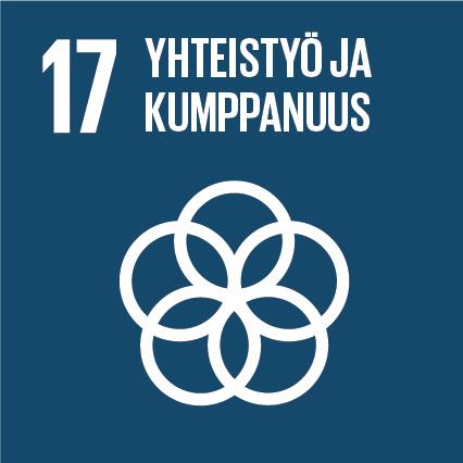 YK:n kestävän kehityksen tavoitteet Kuusamon Juusto yhteistyö ja kumppanuus