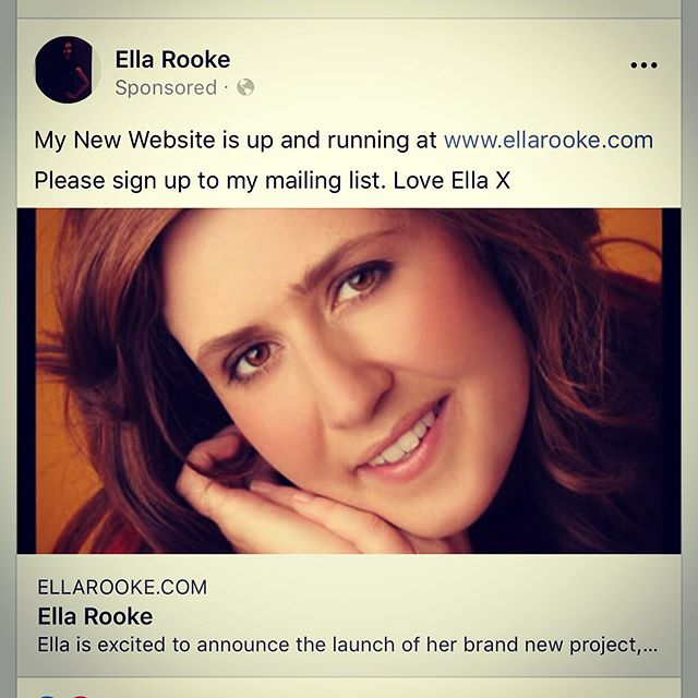 So happy to announce that my new website is all up and running www.ellarooke.com  Please sign up to my mailing list. Thank you. Management news coming up soon 😊 #website #musician #singer🎤 #life #love #ella #jazzsinger #folksinger #mailinglist #gigs @deagles_ @mrobinsonmusic @alexmunkmusic @nuggetonline @maxluthert