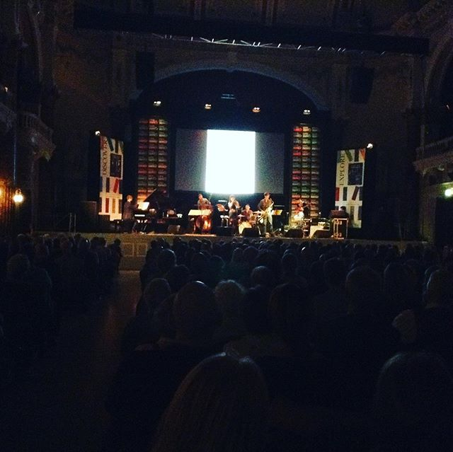 Such an incredible gig at Cheltenham Literature Festival. Full audience. I am so proud to lead this project 'My Blue' and so excited of what's ahead.  Thanks so much to the incredible musicians who joined me here. Some very exciting news ahead. @deagles_ @chriseldred89 @tobiecarpenter @maxluthert @nuggetonline ❤️ #cheltlitfest #cheltenhamfestival #cheltenham #jazz #folk #jonimitchell #music #festival #ella #singer