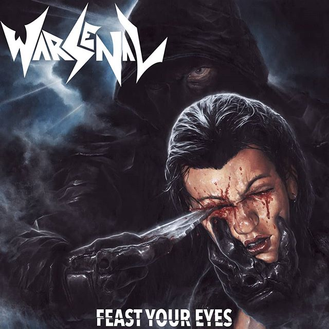 FEAST YOUR EYES  Out November 15th  @svartrecords  Track Listing: 1. Forever Lost 2. I Am The Blade 3. Lords of Rifftown 4 .Insatiable Hunger 5. Doomed From Birth 6. You Better Run 7. Burning Ships 8. Feast Your Eyes 9. Crystal Whip  Artwork by the amazing: Velio Josto  #Warsenal #thrashmetal #speedmetal #metal #heavymetal #canadianmetal #newmusic #music #newalbum #svartrecords #quebecmetal #veliojosto #riffs #unchienandalou #brunuel #dali #artwork #metalart #metalartwork