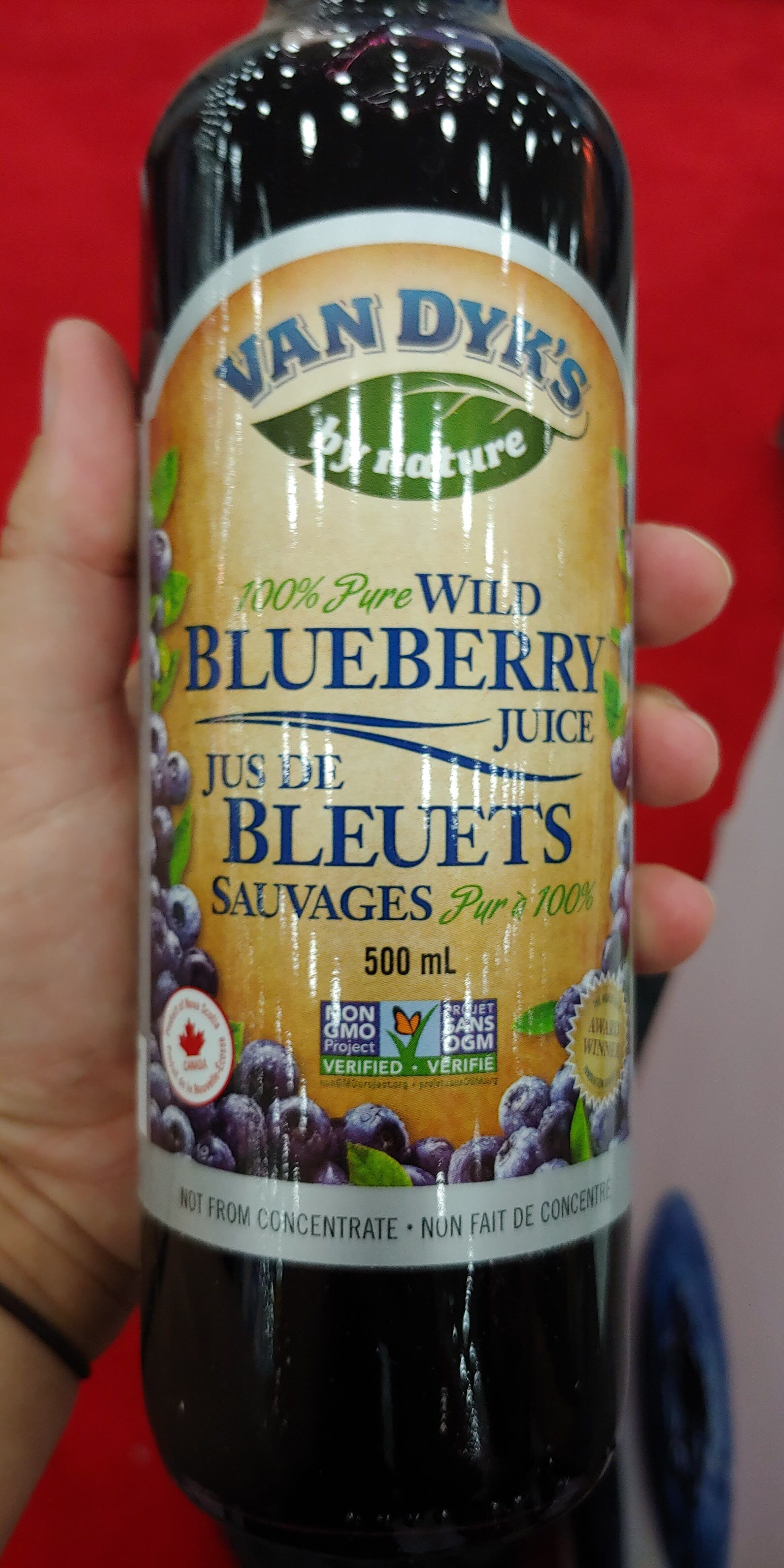 Stunning pure wild juice medicine