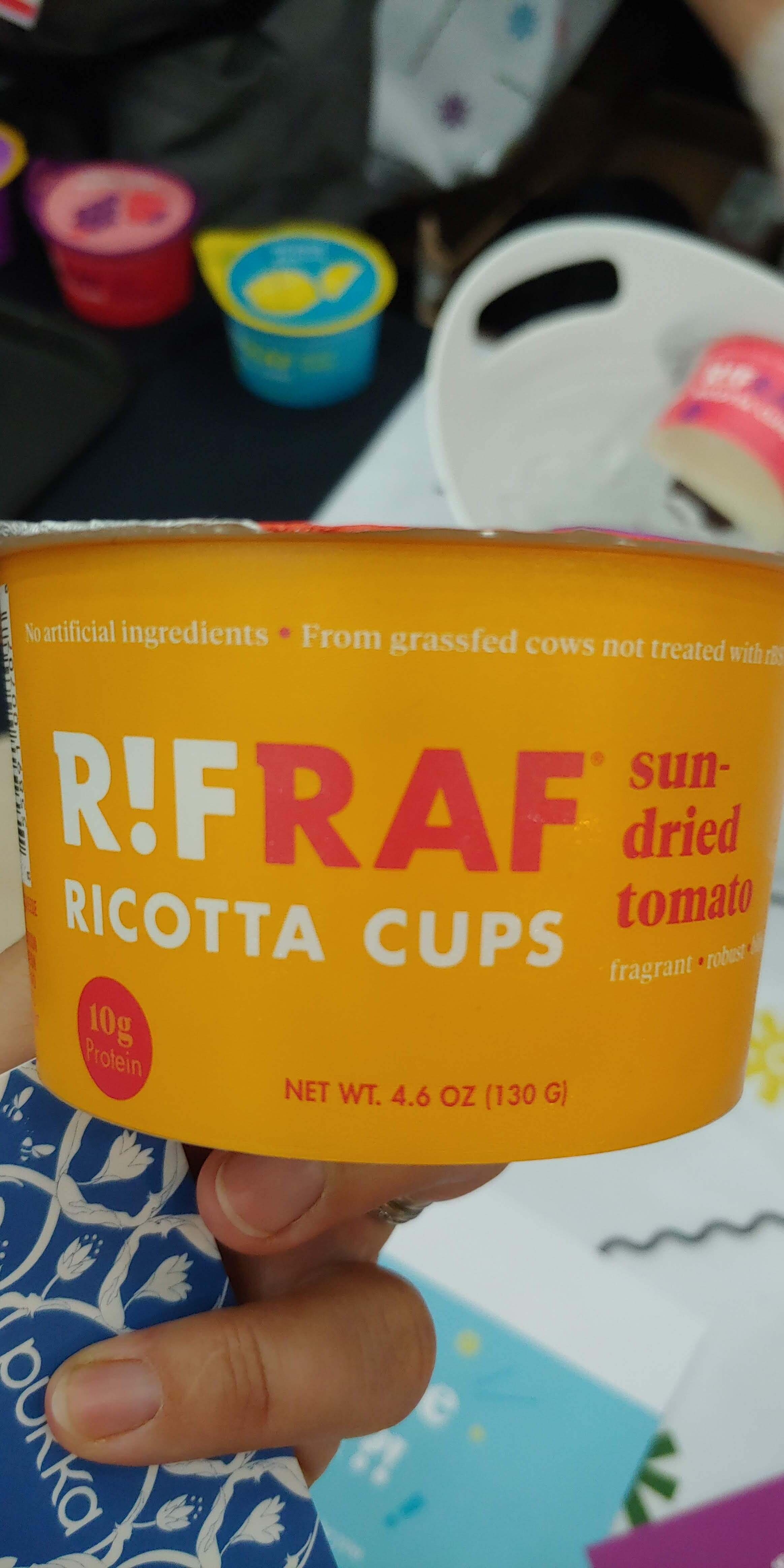 Creamy ricotta, great with veggies!