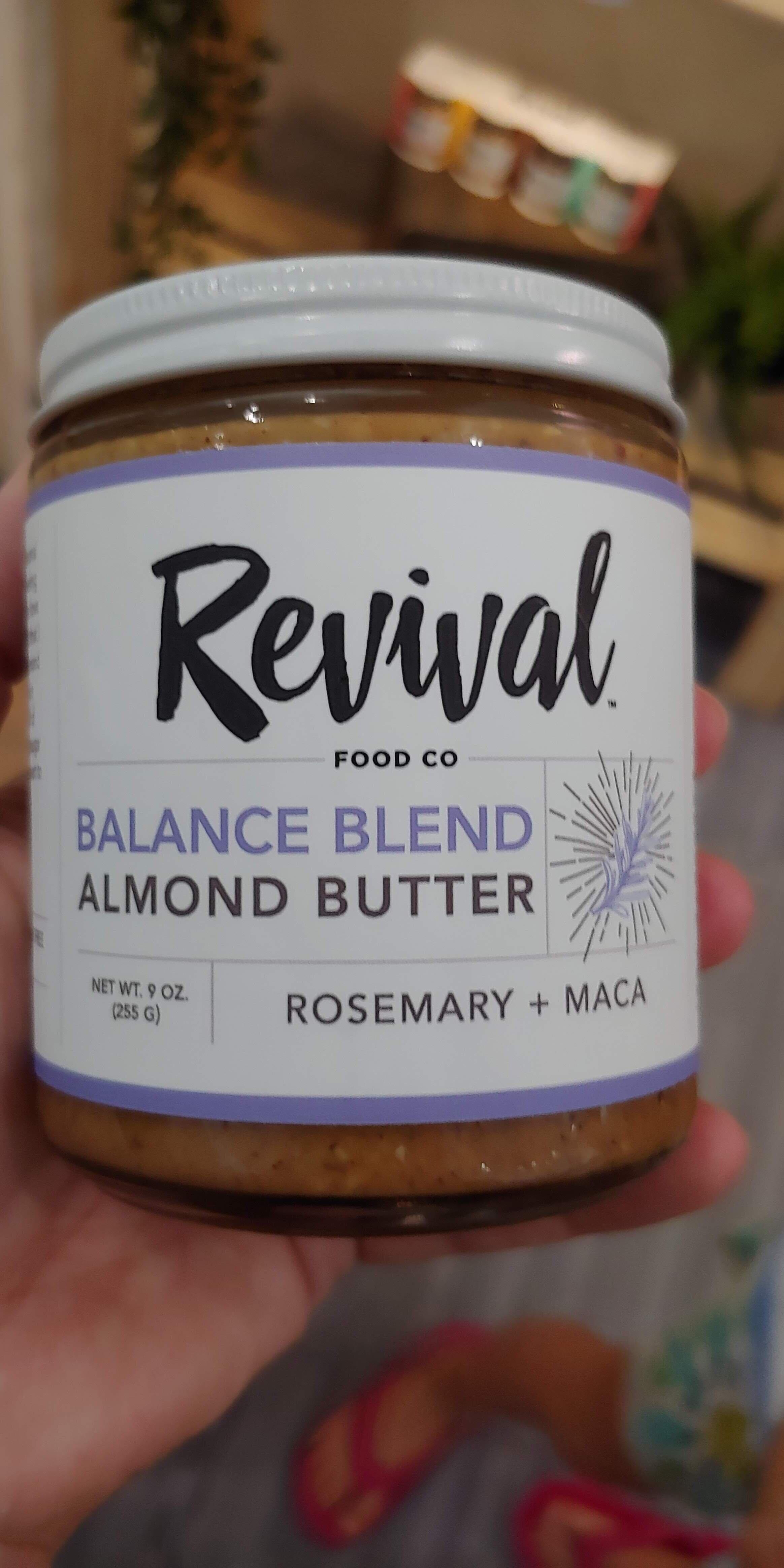 Savory rosemary almond butter YUM